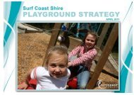 Playground Strategy - Surf Coast Shire