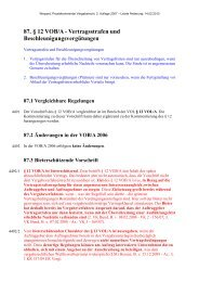 Vertragsstrafen und Beschleunigungsvergütungen - Oeffentliche ...