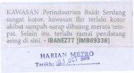 KAWASANPerindustrian Bukit Serdang 1 - MPSJ - Majlis ...
