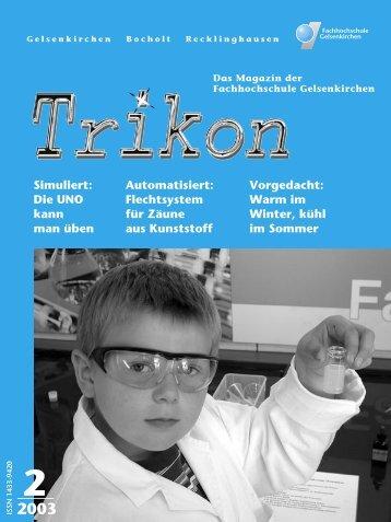 Ausgabe 2/2003 - TRIKON