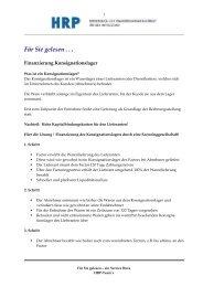 Finanzierung Konsignationslager - Heyd, Reims & Partner GmbH ...