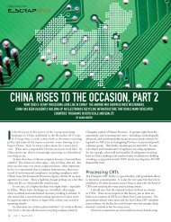 china rises to the occasion, part 2 - Electronics Recycling Directory