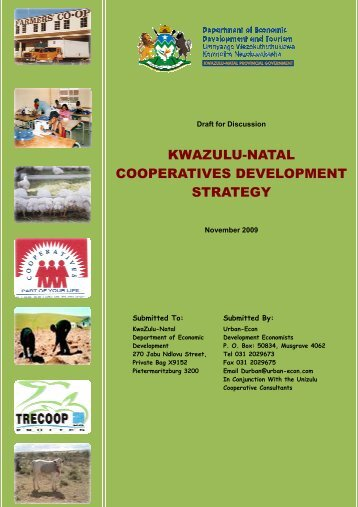 KZN Coop Report Revised and updated 27-11-2009 _2_ _2