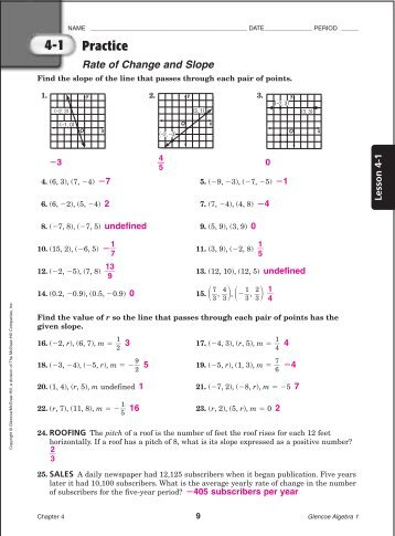 Algebra 1 workbook answer key homework and practice workbook holt algebra 1 answers homework help mcdougal littell algebra array chapter rh yumpu com fandeluxe Choice Image