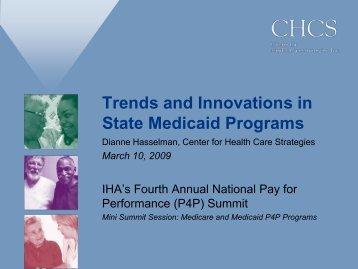 CHCS Presentation at 2009 IHA P4P Summit - Center for Health ...