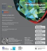 Flyer Leitbild Nachhaltigkeit WiSe2011-2012 -01