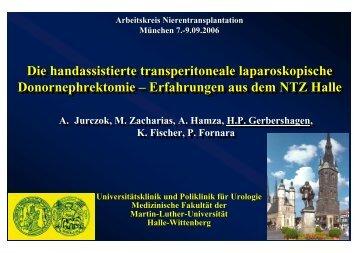 Laparoskopische Donornephrektomie - nieren-transplantation.com