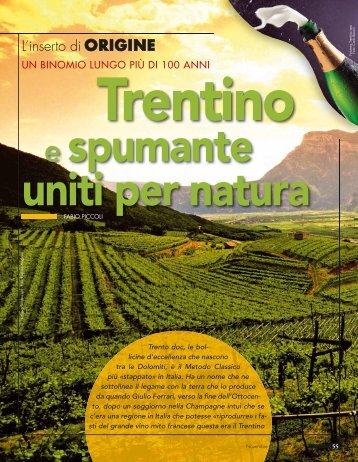 Trentino e spumante uniti per natura - L'Informatore Agrario