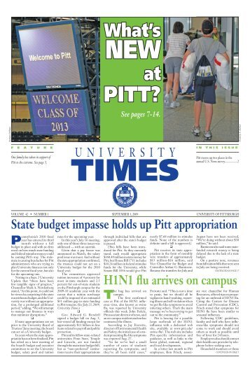 Download the latest issuePDF - University Times - University of ...