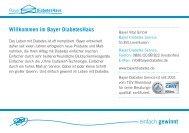 Willkommen im Bayer DiabetesHaus - Gesundheitsberatung