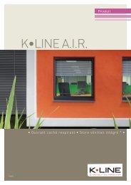 K•LINE A.I.R. - catalogue de l'Untec