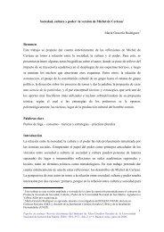 Sociedad, cultura y poder - Instituto de Altos Estudios Sociales