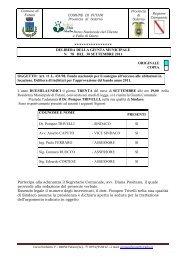 Art. 11 L. 431/98. Fondo nazionale per il ... - Comune di Futani