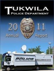 2011 Annual Report - the City of Tukwila