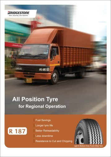 Download Brochure - Bridgestone Tyres India