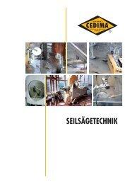Seilsägetechnik Zubehör - Cedima