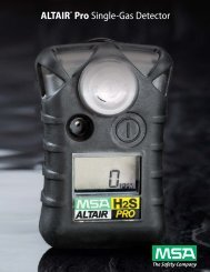 ALTAIR® Pro Single-Gas Detector - 5 Alarm Fire and Safety ...