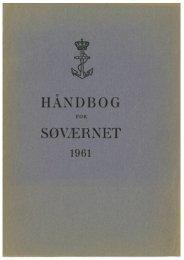 Håndbog for Søværnet 1961
