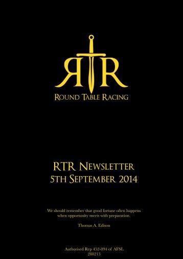 RTR News 5Sep
