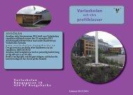 Broschyr om Varlaskolan och våra profiler