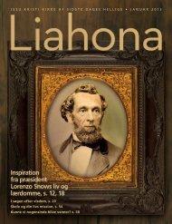 Januar 2013 Liahona - The Church of Jesus Christ of Latter-day Saints