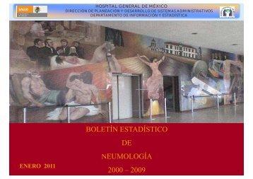 Boletín estadístico 2000 - Hospital General de México