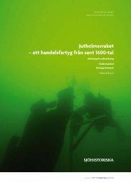 Jutholmsvraket - Statens maritima museer