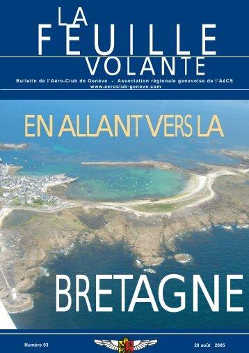 L A VOLANTE - Aeroclub de Genève