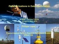 x - European Centre for Medium-Range Weather Forecasts