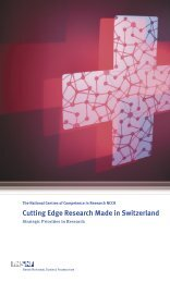 Cutting Edge Research Made in Switzerland - Frontiers in Genetics