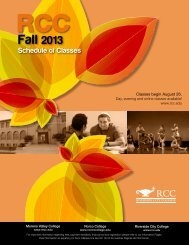 Fall 2013 - Riverside Community College District