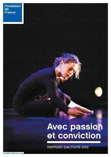 Rapport annuel - Fondation de France