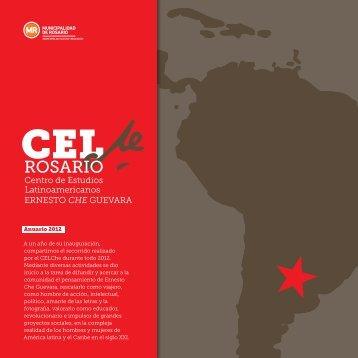 Anuario CELChe - Secretaría de Cultura y Educación