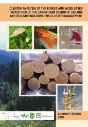 3. forest and wood based industries of the ... - Wald-Zentrum