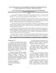 Inventarisasi dan Eksplorasi Mineral Non Logam di Kab ...