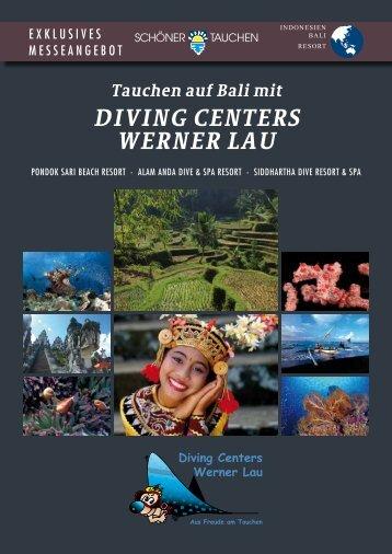 Tauchen auf Bali mit DIVING CENTERS WERNER LAU