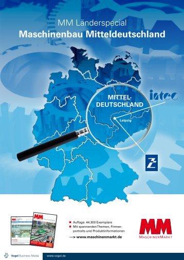 Maschinenbau Mitteldeutschland