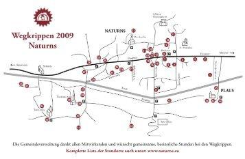 Wegkrippen 2009 Naturns