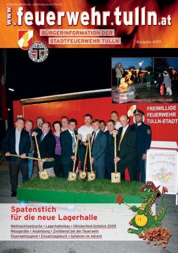 pdf, ~2,7 MB - Stadtfeuerwehr Tulln