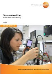 Temperatur-Fibel - Testo Industrial Services GmbH