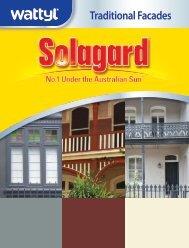 Solagard Traditional Facades Brochure - Wattyl