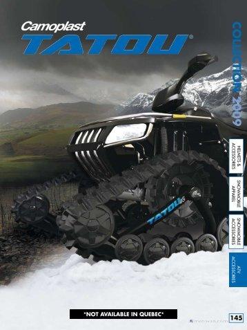 collectio N 2009 - atv track kit
