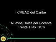 Nuevos Roles del Docente Frente a las TIC's