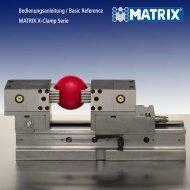 Bedienungsanleitung X-Clamp - Matrix GmbH