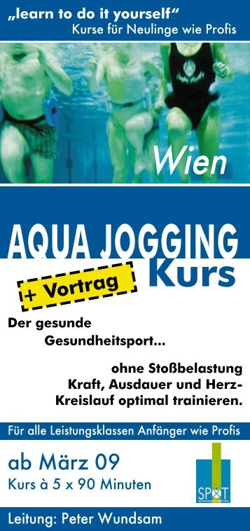 "AQUA JOGGING ""learn to do it yourself"" - MaxFun.at"