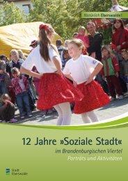 12 Jahre Soziale Stadt - im Brandenburgischen ... - Stadt Eberswalde