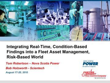 Integrating Real-Time, Condition-Based Findings Into A Fleet - FAMOS