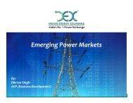 Emerging Power Markets - NPTI