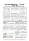 Koronarangiographie und PCI in Österreich im Jahr 2002 - Invasive ... - Seite 2