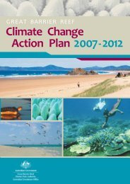 Climate Change Action Plan - Great Barrier Reef Marine Park Authority